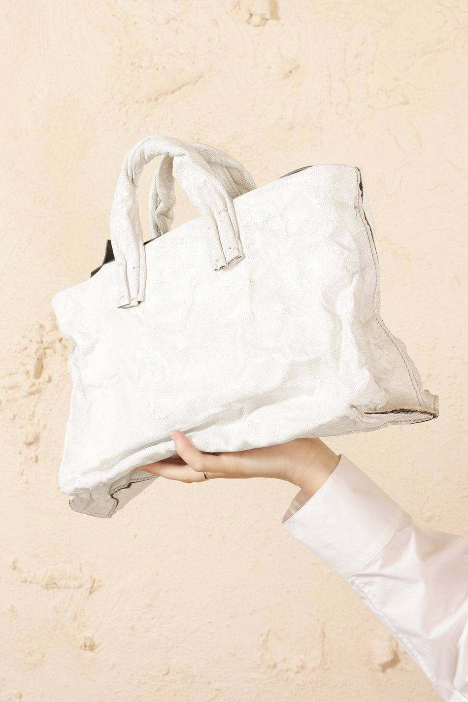 Medium Anima Ray Bag White