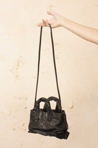 Mini Anima Calf Bag Carbon