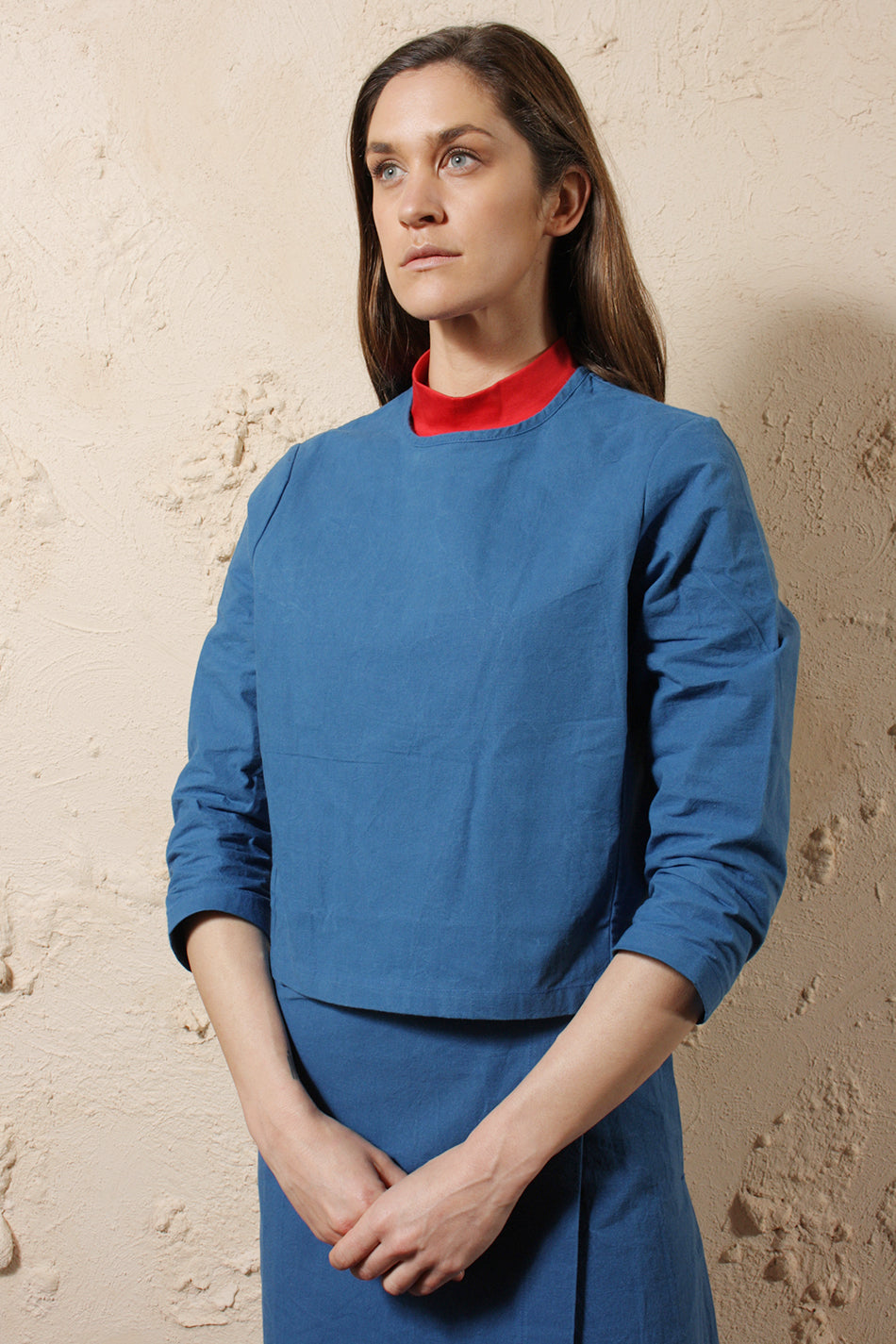 Wax Cotton Pullover Uniform