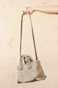 Mini Anima Python Bag Grey