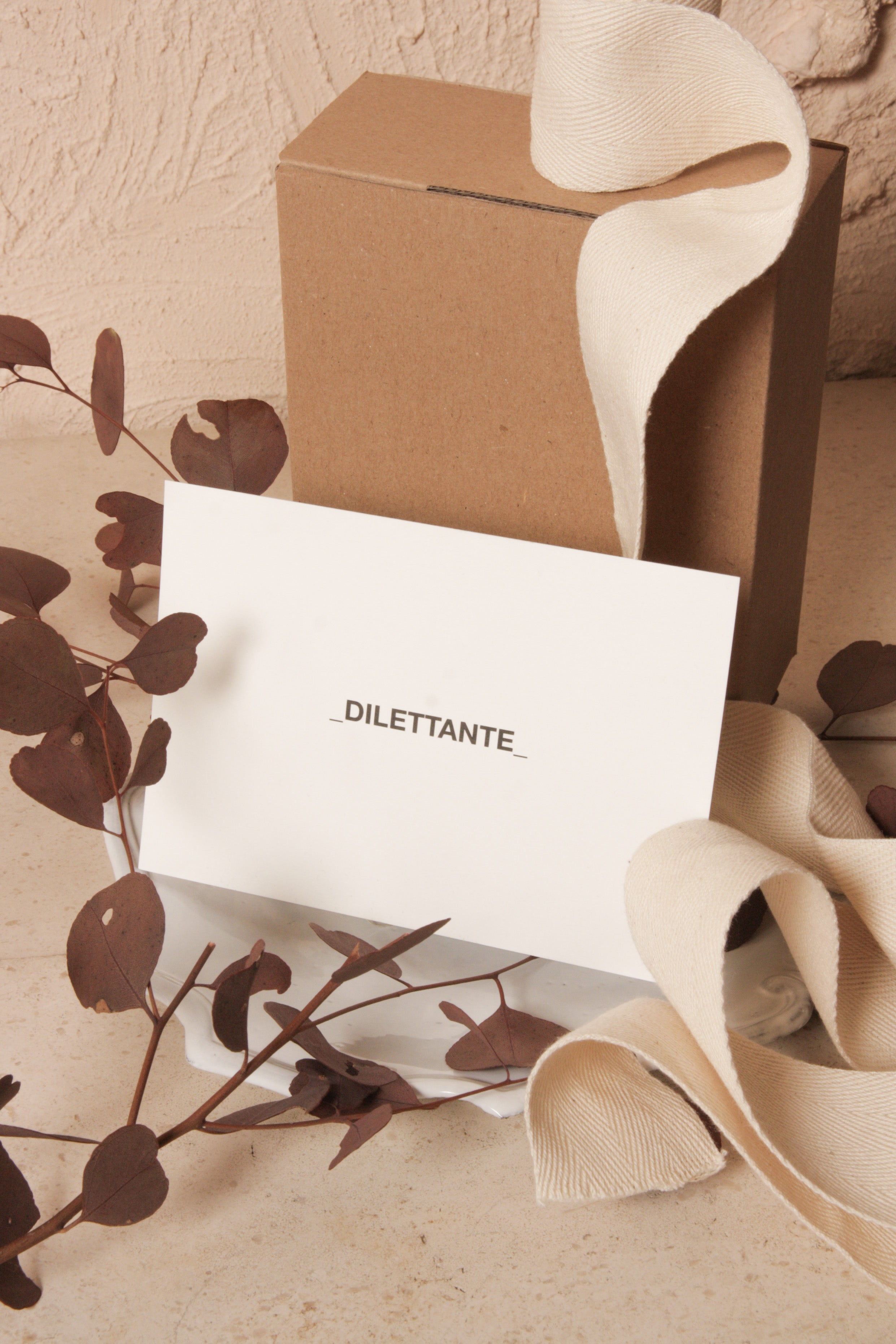 Dilettante Gift Certificate