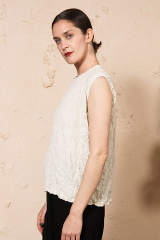 Meringue Tank Off White