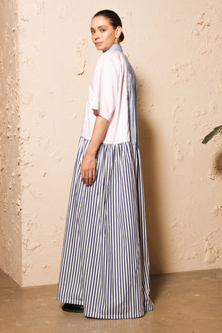 Pastel and Stripe Dress