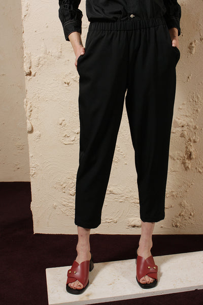Relaxed Wool Trouser