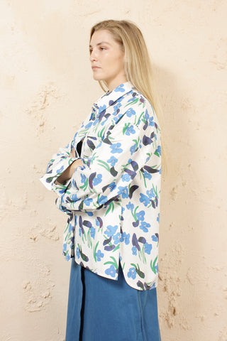 Tung Floral Oversized Shirt