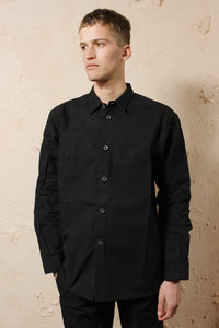 Mens Regular Shirt Black