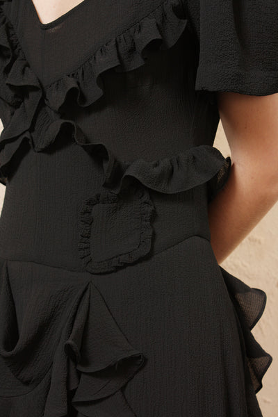 Wendie Ruffle Dress