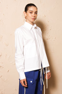 White Long Sleeve Shirt
