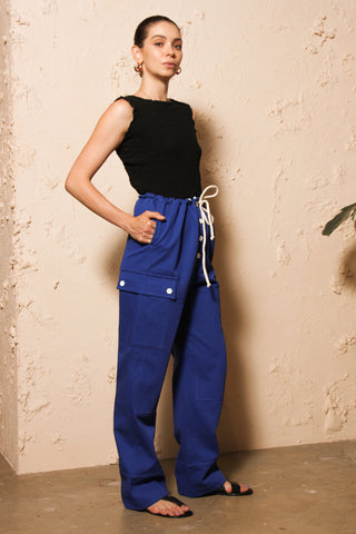 Blue Klein Trousers