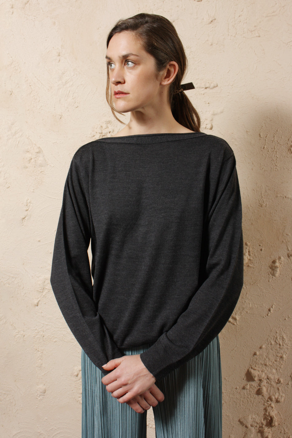 Merino Wool Relaxed Sweater