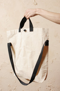 Wax Cotton Bag Unbleached