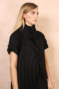 Wave Pleat Top
