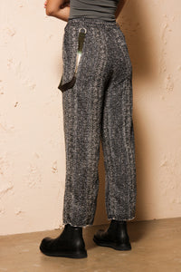 Tweed Straight Pant