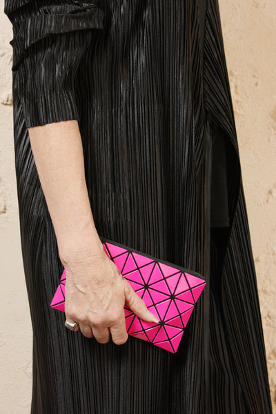 Prism Flat Pouch Pink