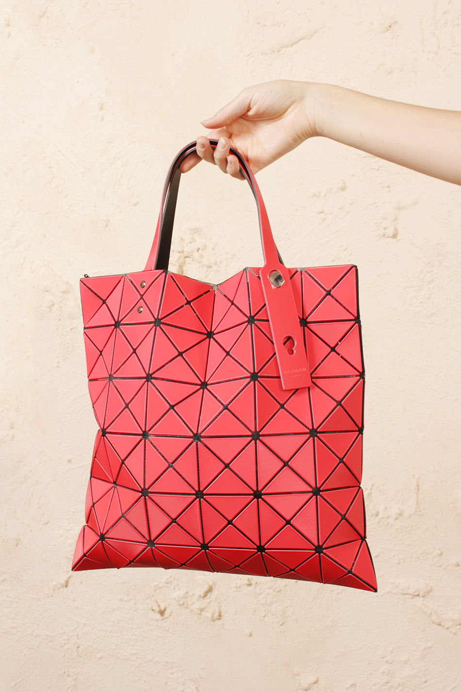 Lucent Frost Red Tote