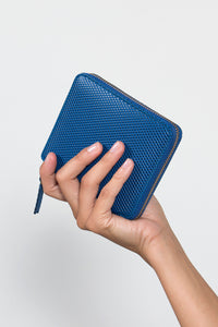 Textured Zip Around Wallet