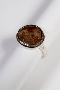 Julia Rutilated Quartz Ring