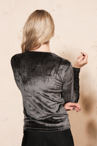Omo Long Sleeve Tee Velour