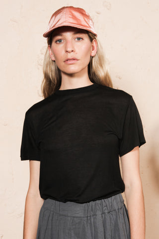 Black Tee Shirt Bamboo