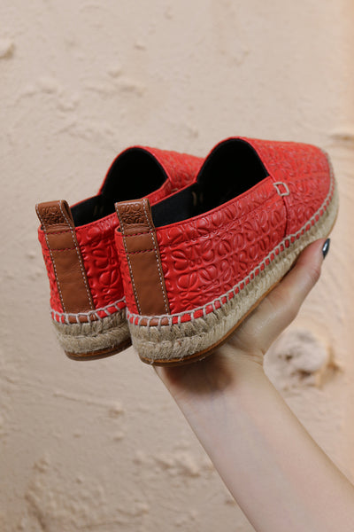 Espadrille Repeat Red