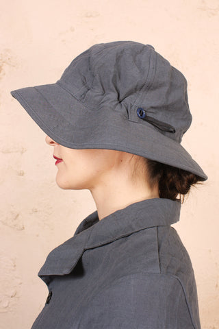 Six Panel Hat Grey