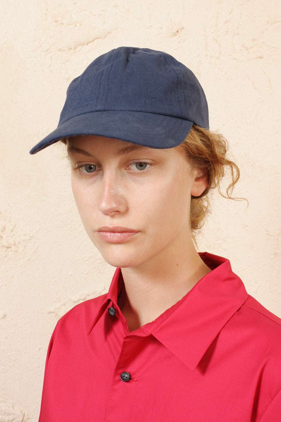 Six Panel Cap Navy