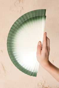 Gradient Green Fan