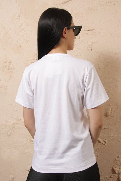 Jewel Neck Tee