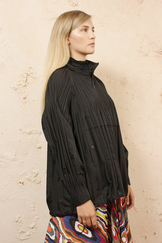 Jaunty Pleated Jacket
