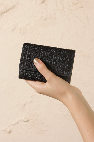 Small Vertical Zip Wallet