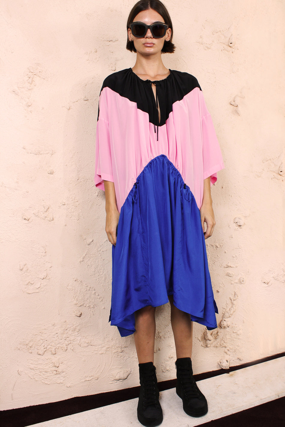 Dakai Pink and Blue Dress