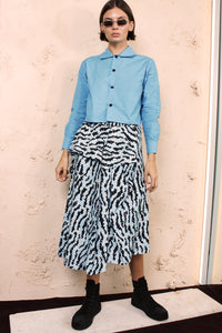 Saggie Animal Print Skirt