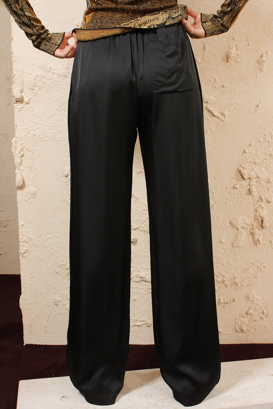Pernelle Satin Trousers