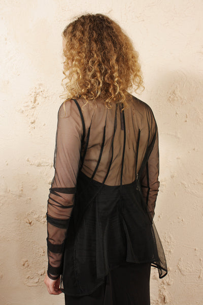 Sheer Tulle Jacket