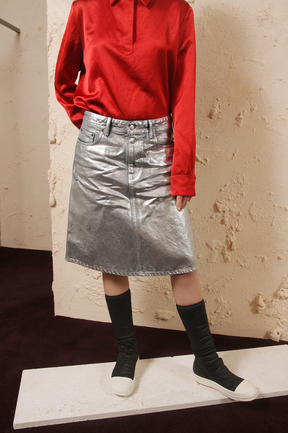Shadow Silver Skirt