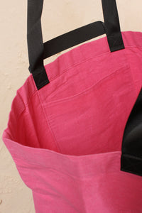Large Tote Bag Pink