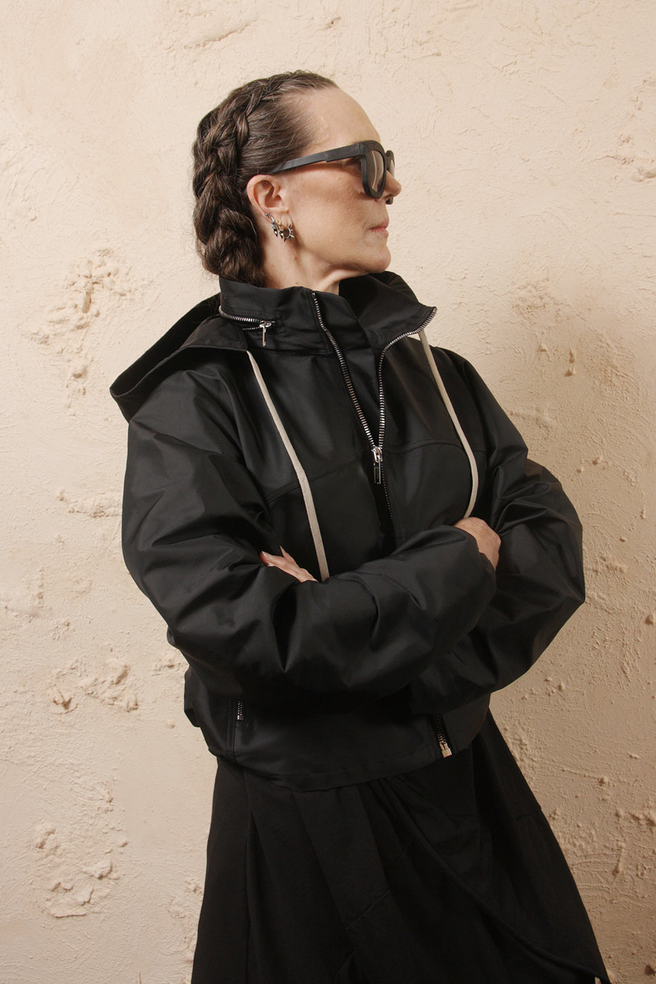 Cropped Windbreaker