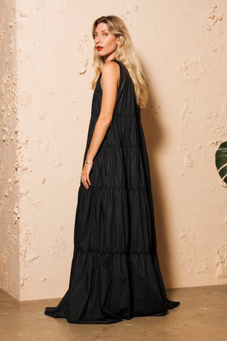 Long Tiered Dress