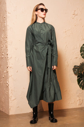 Dabbar Green Shirtdress