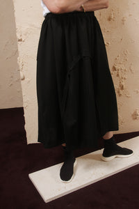 Layer Wool Skirt