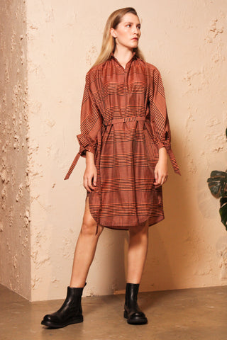 Danakai Check Shirtdress