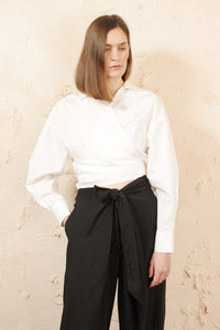 Loire Wrap Top Salt