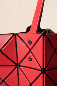 Lucent Matte Tote Red