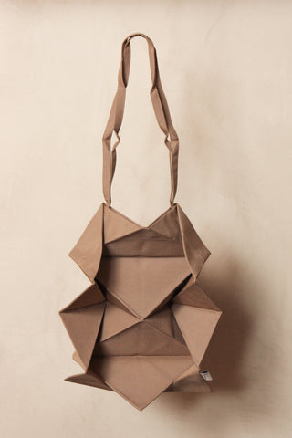 Crown Tote Bag Beige
