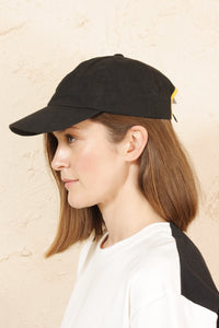 Cap Black and Yellow