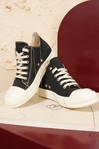 Tonal Stitch Low Sneakers