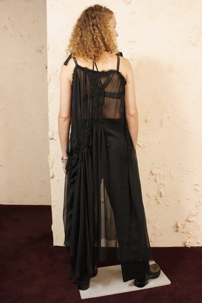 Dusk Sheer Ribbon Dress