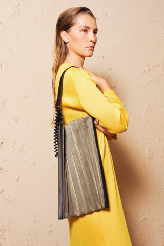 Accordian Pleats Bag