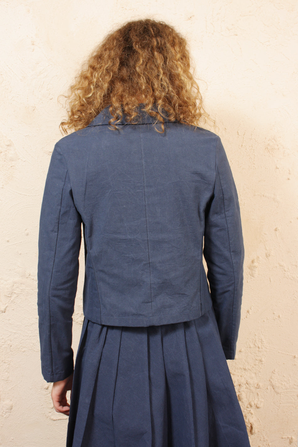 Wax Shirt Blazer Navy