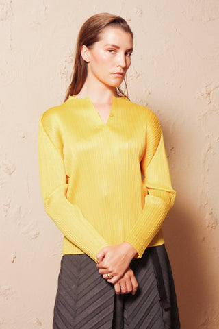 Long Sleeve Top Yellow